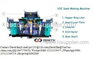 China vsi sand making machine on sale