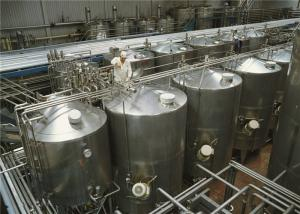 China Flavored Cheese Yogurt Production Line Equipment 1000L Bottle Packed on sale