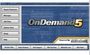 China Mitchell On Demand 5 Car Diagnostic Software Tool for BMW, Audi, Acura,  on sale