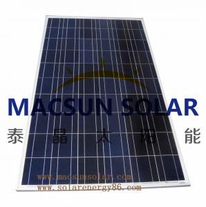 China Macsun solar 300W Poly Crystalline Solar Panels for solar power system on sale