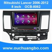 China Auto radio gps for Mitsubishi Lancer(2006-2012) with DVD MP3 player navigatie system OCB-8062 on sale