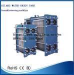 sauna spa swimming pool fountain heat exchanger