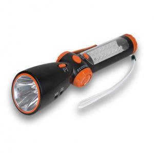 China Hand Wind up Dynamo Radio Flashlight on sale