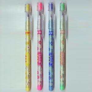 China Plastic Multi - Head Bullet Push Pencil With Eraser Topper For Kids on sale