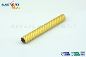 China 6063 T5 Golden Color Anodised Aluminium Profile ,Extruded Aluminum Tube on sale