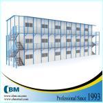 CBM a préfabriqué le type du logement K Chambre préfabriquée pour le camp de travail