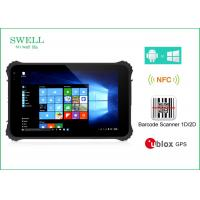 China Waterproof Dustproof Shockproof 8inch Rugged Tablet Pc With NFC Barcode Scanner on sale