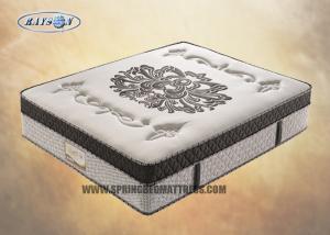 China Double Layer Pocket Spring Mattress / Euro Top Memory Foam Mattress on sale