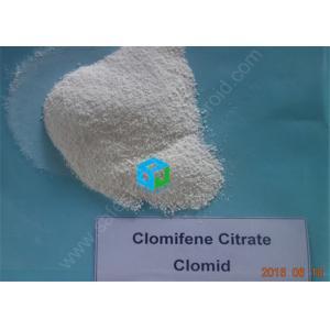 China Clomifene Citrate Clomid Serms Estrogen Inhibitors Bodybuilding , Low Estrogen Steroids on sale