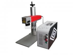 China Color laser marking machine with MOPA fiber laser source 20W on sale