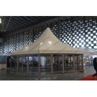 φ10M Six Sides Pagoda Party Tent Temporary Aluminum Frame For Shanghai Exhibition