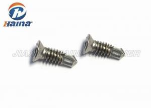 China Self Drilling Flat Head Screws Phillips Drive , Micro Self Drilling Stainless Steel Screws on sale