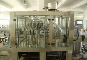 China PET Bottles 3 in1 Monoblock Fruit Juice / Water / Beer Filling Machine Production Line on sale