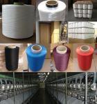 Haut fil tordu de multifilament d'industrie de ténacité