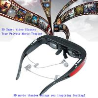 A8 Processor/1GB Memory/8GB Flash/Max 32GB TF Card 98 inches  1080P Virtual Display with AV IN HDMI 3D Video Glasses