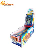 Amusement Arcade Coin operated redemption 1 Player Ocean bowling video game machine with ticket back
