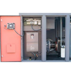 China 75kw 90HP Two Stage Screw Compressor / Air Compressor Cooling System on sale