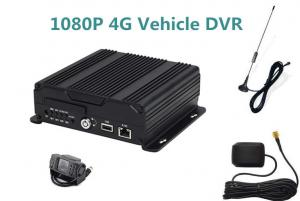 China SD Card 1080P 4 Camera Car DVR Monitoring System Support Real Time Video on sale