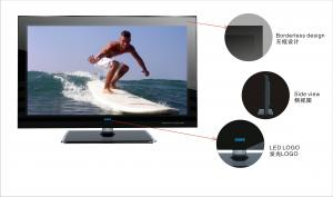 China LCD TV-SPT89 series available with32/42 inch screen, Borderless design on sale