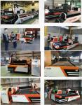 Golden laser | Steel plate fiber laser cutting machine GF-1530 with Cypcut control software