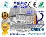A luz 100-120W com CE, RoHS do diodo emissor de luz Highbay certificou e eficiência refrigerando do melhor feita em China