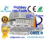La luz 100-120W con CE, RoHS del LED Highbay certificó y eficacia de enfriamiento del mejor hecha en China
