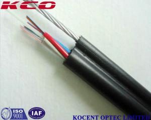 China GYXTC8S Figure 8 Armored Self Supporting Outdoor Fiber Optic Cable SM MM OM3 OM4 OM5 on sale