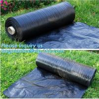Anti-UV Landscape Fabric PP Woven Agricultural Weed Control,PP Woven Landscape Fabric Garden Weed Barrier Mat, bagplasti