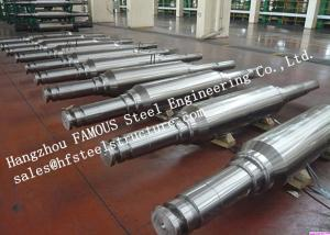China High Hardness and Durability Forged Alloyed Steel Work Roller for Cold Rolling Factory on sale