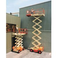 China Mobile Scissor Man Lift on sale