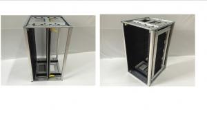 China Reversible and chain adjustment ESD SMT magazine pcb rack,ESD pcb storage racks on sale