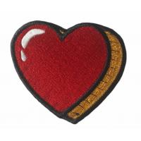 China Clothing Fabric Custom Velcro Patches Hook And Loop Patches on sale
