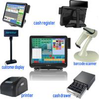 Whole Sets 15 Inch Dual Touch Screen Pos Terminal For Restaurants