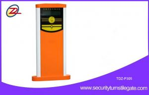 China Intelligent car parking ticket machines with barrier gate / management software on sale