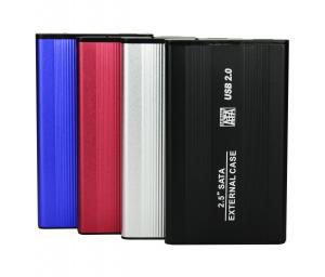 China HOT aluminum usb 3.0  hdd enclosure 2.5 hdd case for external hard drive 2tb on sale