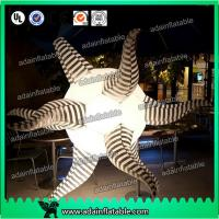 Fire Retardant Inflatable Stars / Inflatable LED Star Party Decoration