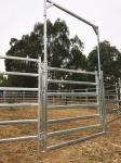 13 Horse Panel Cattle Yard HEAVY Duty Outdoor Animal Enclosure with Gate