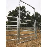 China 13 Horse Panel Cattle Yard HEAVY Duty Outdoor Animal Enclosure with Gate on sale
