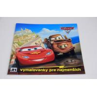 China Comic Book Saddle Stitch Book Printing And Binding With Heat Transfer Stickers on sale