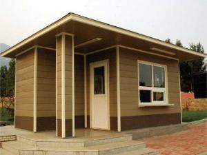 China Cheap Waterproof High Quality WPC House on sale