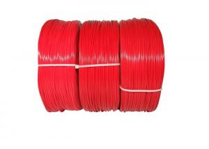 China Red Color Empty Plastic Rod 1.75mm 1kg PLA ABS 3d Printing Filament on sale