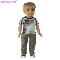 China New arrival 18 inch boy vinyl dolls baby soft toy with sports cloth doll manufacturer china on sale