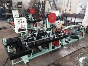 China Straight and Reverse Twisted Barbed Wire Machine with High Speed on sale
