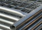 Hot dipped Galvanized Construction Fencing Panels 2.1mx3.6m Super Temp Fence Paneles -L