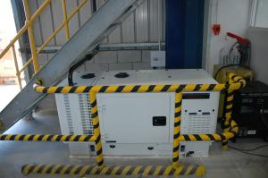 China Single Phase Portable Silent Diesel Generator Set Perfect for Residential and Commercial Use 20KW - 23KW on sale
