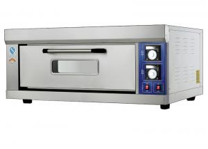 China 1 Deck  Far - Infrared Electric Baking Ovens Stainless Steel Tempered Glass Oven Door With Inner Lightings on sale