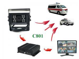 China IR Day & Night Vehicle Mounted Cameras Weatherproof 2.0 Megapixel Rear View C801 RECODA on sale