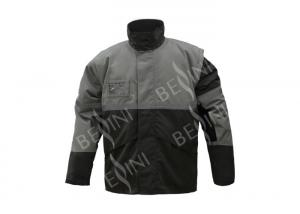 China Water And Wind Proof Mens Workwear Overalls / XS Padded Outdoor Jacket on sale