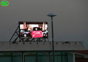 China Advertising p6 outdoor led screen / 1R1G1B usb led display 6500K - 9500K on sale