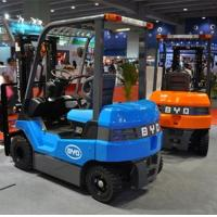 Simple Structure BYD Electric Battery Powered Forklift High Efficiency